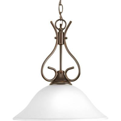 1-Light Antique Bronze Pendant