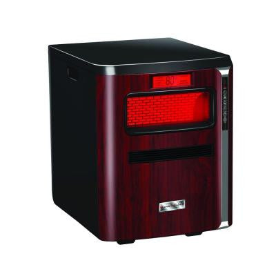 HeatPure Plus All-in-1 Radiant Infrared Quartz Portable Heater with Humidifier, Air Purifier, HEPA Filter