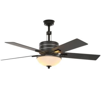 Carlsbad 52 in. Black Ceiling Fan