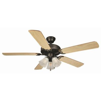 Millbridge 52 in. Oil Rubbed Bronze Ceiling Fan