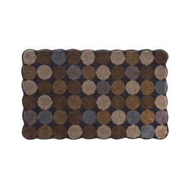 Designer Agarthi Light Brown 21 in. x 34 in. Rug