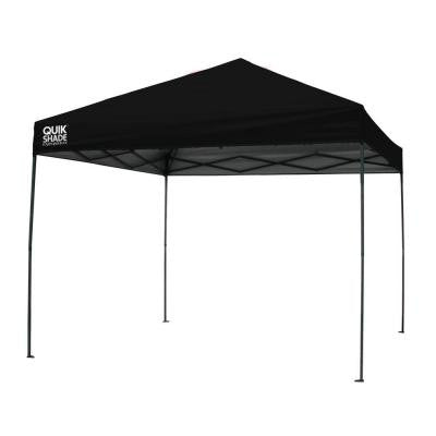 10 ft. x 10 ft. Black Instant Canopy
