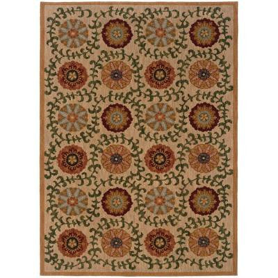 Mola Beige 9 ft. 10 in. x 12 ft. 9 in. Area Rug