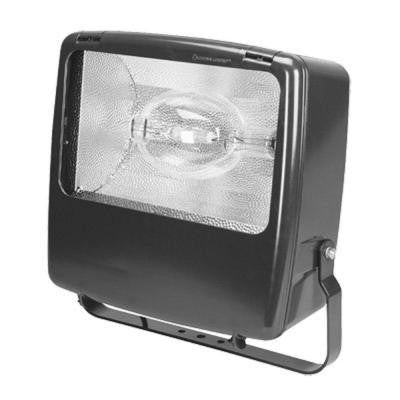 1-Light Horizontal Metal Halide Distribution Twist Lock Outdoor Dark Bronze Flood Light