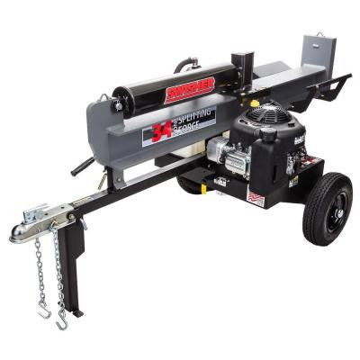34-Ton 344cc Gas Log Splitter