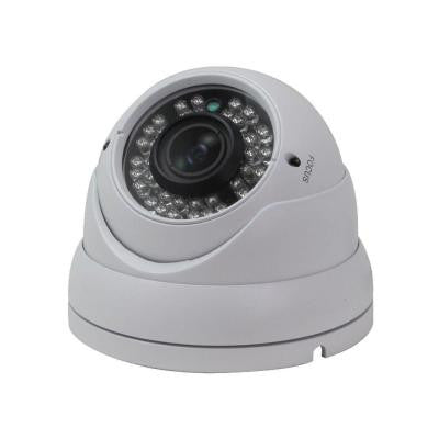 Indoor/Outdoor 720P HD-CVI Vandal Dome Camera with 2.8 mm to 12 mm Lens and 36 IR LED