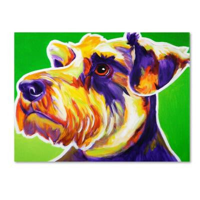 "24 in. x 32 in. ""Elroy"" by DawgArt Printed Canvas Wall Art"