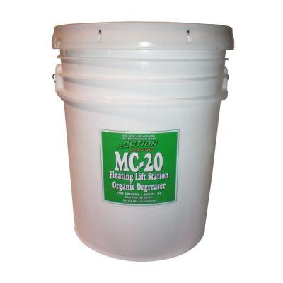 1-5 Gal. Pail Organic Lift Station/Septic Tank Degreaser Super Concentrate (at 300%) (Available Cherry Scent)