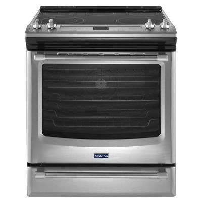 AquaLift 6.2 cu. ft. Electric Range with Self-Cleaning Convection in Stainless Steel