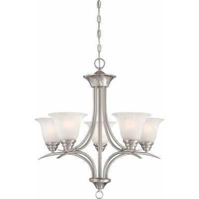 Trinidad 5-Light Brushed Nickel Chandelier