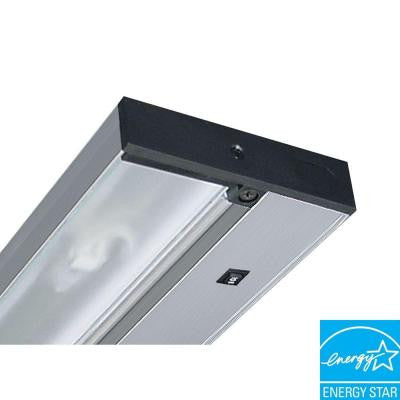 Pro-Series 22 in. Brushed Silver Fluorescent Under Cabinet Light