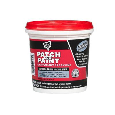 Patch-N-Paint 1/2 pt. White Lightweight Spackling (24-Pack)