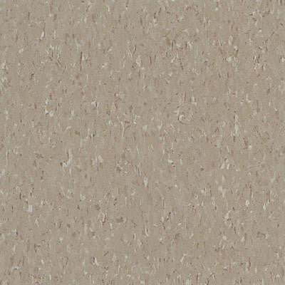 Imperial Texture VCT 12 in. x 12 in. Earthstone Greige Standard Excelon Commercial Vinyl Tile (45 sq. ft. / case)