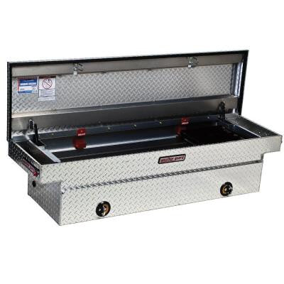 Full-Size Aluminum Saddle Box
