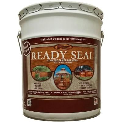 5 gal. Pecan Exterior Wood Stain and Sealer
