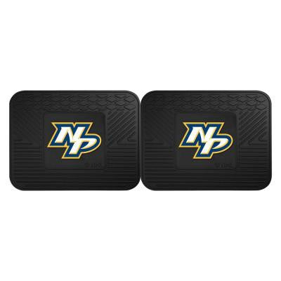 NHL Nashville Predators Black Heavy Duty 14 in. x 17 in. 2-Piece Vinyl Utility Mat