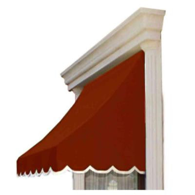 5 ft. Nantucket Window/Entry Awning (44 in. H x 36 in. D) in Terra Cotta