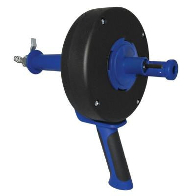 1/4 in. x 25 ft. Power Pistol-Grip Drum Auger