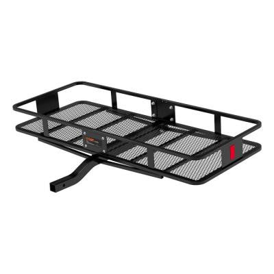 500 lbs. Capacity Basket-Style 24 in. Wide Cargo Carrier with 2 in. Fixed Shank