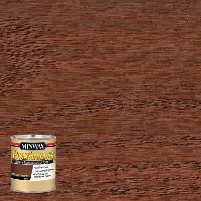 8 oz. PolyShades American Chestnut Satin Stain and Polyurethane in 1-Step (4-Pack)