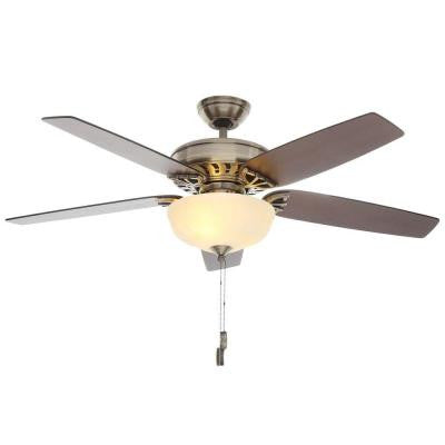 Concentra Gallery 54 in. Antique Brass Ceiling Fan