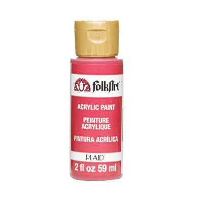 2-oz. Cardinal Red Acrylic Craft Paint
