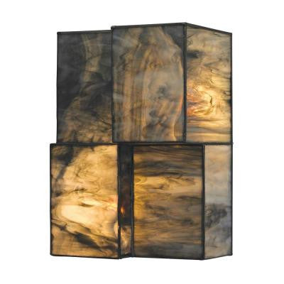 Braque Collection 2-Light Brushed Nickel Sconce