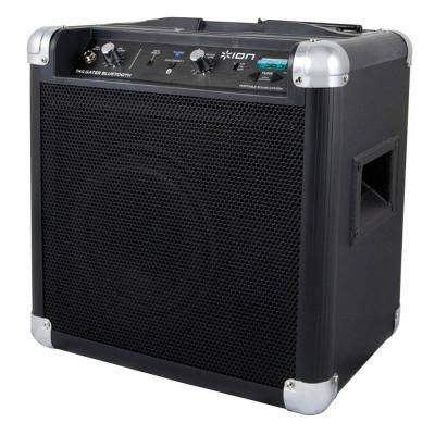 50-Watt Indoor/Outdoor Bluetooth Portable Music System with Microphone and AM/FM radio