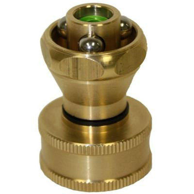 Tiny Giant Brass Adjustable Sweeper Power Jet Nozzle