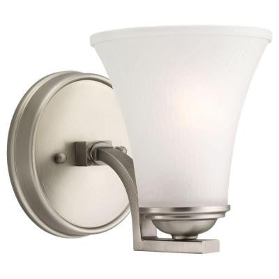 Somerton 1-Light Antique Brushed Nickel Sconce