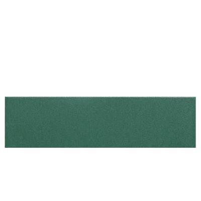 Colour Scheme Emerald Solid 6 in. x 12 in. Ceramic Bullnose Floor and Wall Tile