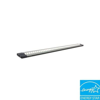 SNAP 19.5 in. 5-Watt Warm White LED Under Cabinet Linkable Light With 24-Watt Power Supply