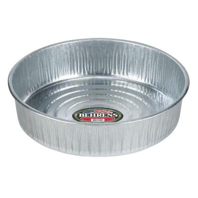 3 Gal. Galvanized Steel Utility Pan