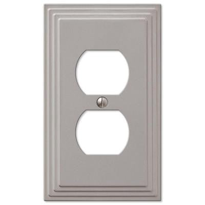 Steps 1 Duplex Outlet Plate - Nickel