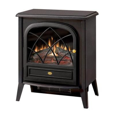 20 in. Freestanding Compact Electric Stove in Matte Black