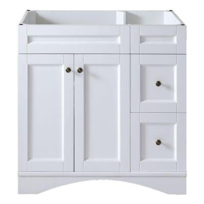 Elise 36 in. Vanity Cabinet Only in White