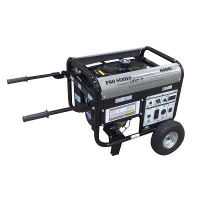 Platinum Series 4,250-Watt 211cc Gasoline Powered Electric Start Clean Power Portable Generator