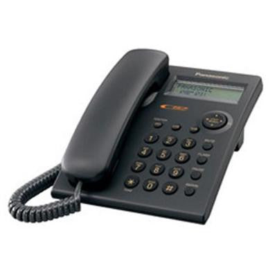Corded Feature Phone with Caller ID - Black