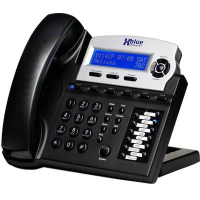 X16 6 Line Digital Speakerphone - Charcoal