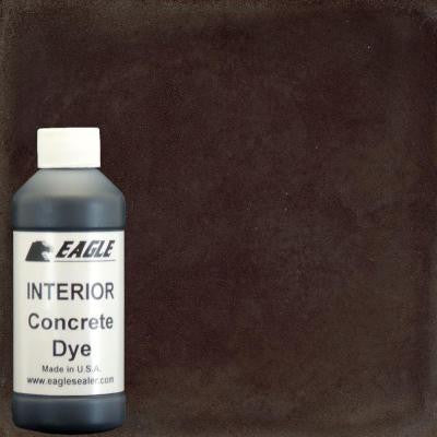 1-gal. Root Beer Interior Concrete Dye Stain Makes with Water from 8 oz. Concentrate