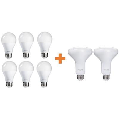 Multi-Application BR30 and A19 LED Value Pack