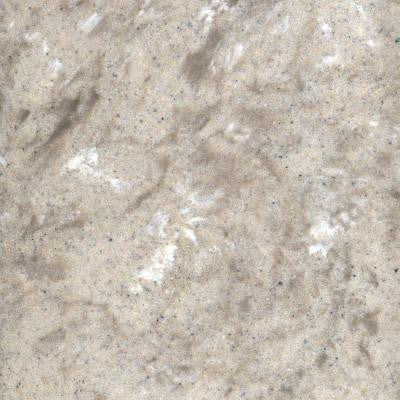 3 in. Cultured Granite Sample Chip in River Bottom