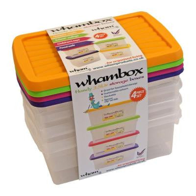 3.7 qt. Organizer Boxes (Set of 4)