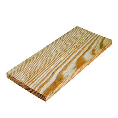 1 in. x 6 in. x 8 ft. Appearance Grade Pine Pressure-Treated Board
