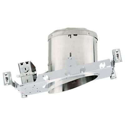 NICOR 6 in. Recessed IC Rated Airtight Sloped Housing for New Construction Applications with Sloped Ceilings