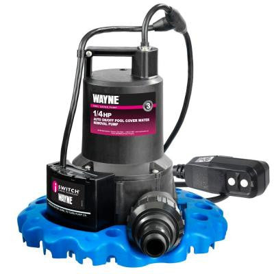 WAPC250G 1/4 HP Pool Cover Pump with GFCI