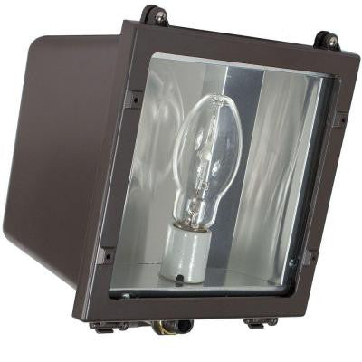 FLS Series 70-Watt Dark Bronze Outdoor HID Small Flood Lighting Fixture