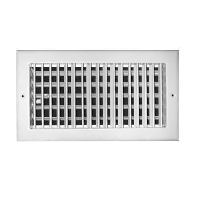 8 in. x 6 in. Aluminum 1-Way Adjustable Wall/Ceiling Register