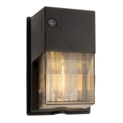 50-Watt Outdoor Bronze High Pressure Sodium Wall Pack