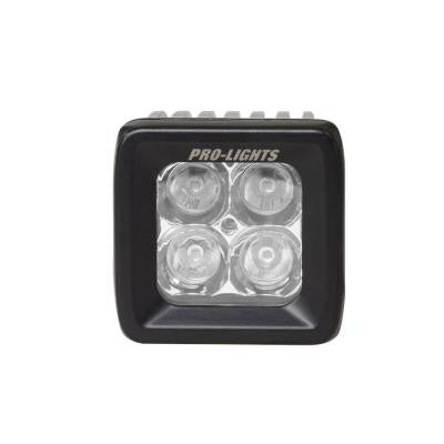 4 in. Cube Waterproof LED Spot Light with OSRAM Bright White Technology and Enhanced Optics